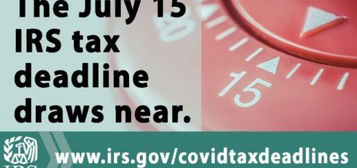 抓紧时间报税!国税局宣布不再延长截止期