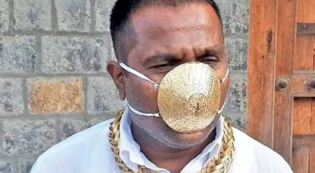 150万美金买一个口罩?!镶3600颗钻,18K白金!买家竟是……